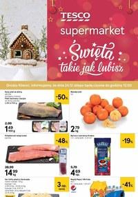 Gazetka promocyjna Tesco Supermarket - Jeszcze więcej okazji w Tesco Supermarket - ważna do 24-12-2020