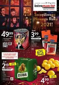 Szczęśliwego Nowego Roku życzy Intermarche!