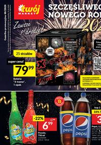 Gazetka promocyjna Twój Market - Oferta sylwestrowa Twój Market - ważna do 31-12-2020