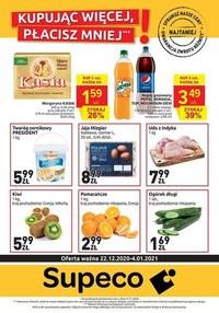 Gazetka promocyjna Supeco - Promocje w sklepach Supeco - ważna do 04-01-2021