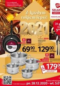 Gazetka promocyjna Selgros Cash&Carry - Sylwestrowe okazje w Selgros! - ważna do 05-01-2021