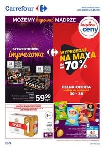 Gazetka promocyjna Carrefour - Wyprzedaż w sklepach Carrefour! - ważna do 05-01-2021