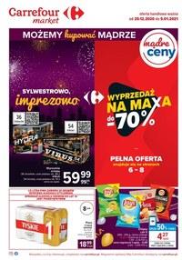 Gazetka promocyjna Carrefour Market - Do -70% w Carrefour Market! - ważna do 05-01-2021