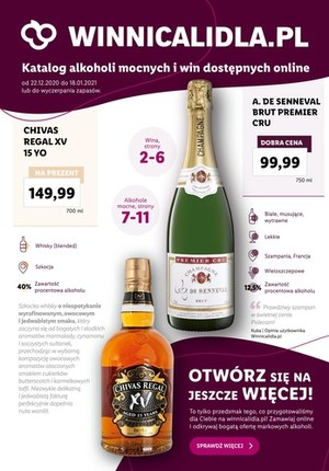 Gazetka promocyjna Lidl - Winnica Lidla - Katalog