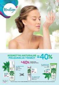 Gazetka promocyjna Kontigo - Kosmetyki naturalne w Kontigo - ważna do 12-01-2021