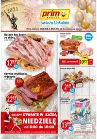 Gazetka promocyjna Prim Market - Hity tygodnia w Prim Market - ważna do 05-01-2021