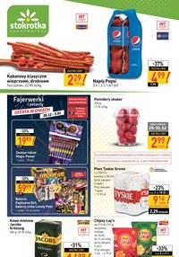 Gazetka promocyjna Stokrotka Supermarket - Promocje w sklepach Stokrotka Supermarket - ważna do 07-01-2021