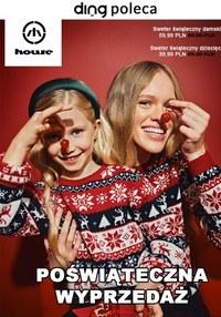 Gazetka promocyjna House - Poświąteczna wyprzedaż w House! - ważna do 09-01-2021