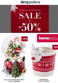 Gazetka promocyjna Home&You - Zimowa wyprzedaż Home&You  - ważna do 10-01-2021