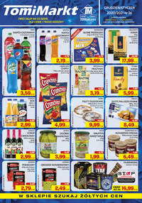 Gazetka promocyjna TomiMarkt - Szukaj żółtych cen w TomiMarkt - ważna do 07-01-2021
