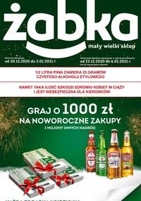Gazetka promocyjna Żabka - Mały wielki sklep - Żabka - ważna do 03-01-2021