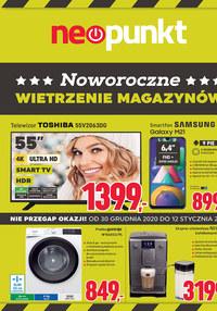 Gazetka promocyjna NEOPUNKT - Noworoczne promocje w Neopunkt - ważna do 12-01-2021