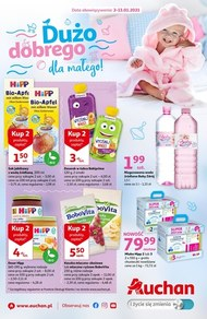 Dużo dobrego dla małego w Auchan Hipermarket