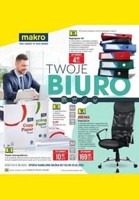 Gazetka promocyjna Makro Cash&Carry - Makro - Twoje biuro - ważna do 25-01-2021
