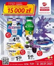 Selgros - styczniowe obniżki cen