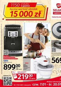 Gazetka promocyjna Selgros Cash&Carry - Selgros - artykuły przemysłowe - ważna do 20-01-2021