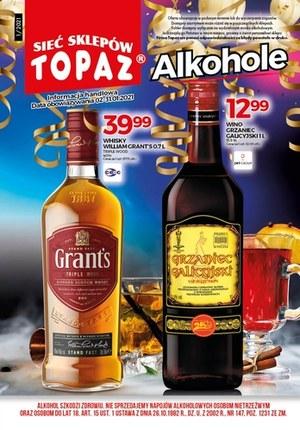 Gazetka promocyjna Topaz - Topaz - alkohole