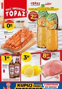 Gazetka promocyjna Topaz - Mega promocje w sieci Topaz - ważna do 13-01-2021
