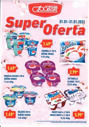 Gazetka promocyjna Społem PSS w Bełchatowie  - Super oferta w Społem Bełchatów