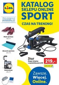 Gazetka promocyjna Lidl - Czas na trening z Lidlem - ważna do 23-01-2021