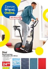 Gazetka promocyjna Lidl - Czas na trening z Lidlem