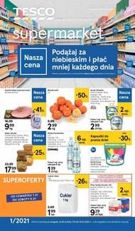 Płać mniej z Tesco Supermarket