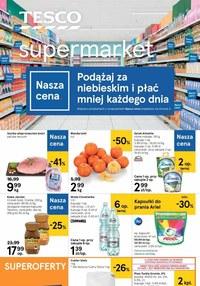 Gazetka promocyjna Tesco Supermarket - Płać mniej z Tesco Supermarket - ważna do 13-01-2021