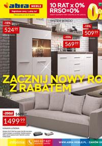 Gazetka promocyjna Abra - Zacznij Nowy Rok z rabatem w Abra - ważna do 21-01-2021
