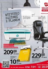 Gazetka promocyjna Selgros Cash&Carry - Zgodnie z planem w Selgors - ważna do 20-01-2021
