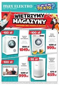 Wietrzenie magazynów w Max Elektro