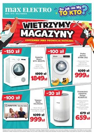 Gazetka promocyjna Max Elektro - Wietrzenie magazynów w Max Elektro