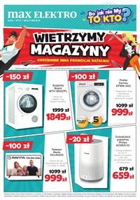 Gazetka promocyjna Max Elektro - Wietrzenie magazynów w Max Elektro - ważna do 27-01-2021