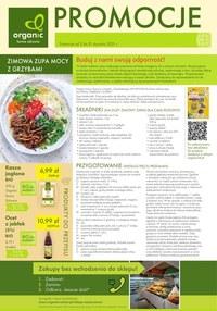 Gazetka promocyjna Organic - Gazetka styczniowa Organic - ważna do 31-01-2021