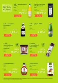 Gazetka promocyjna Organic - Gazetka styczniowa Organic
