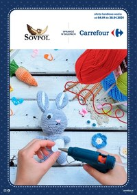 Gazetka promocyjna Carrefour - Kreatywna zabawa z Carrefour  - ważna do 28-01-2021