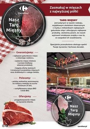 Gazetka promocyjna Carrefour - Targi mięsne w Carrefour