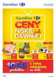Ceny jak dawniej w Carrefour