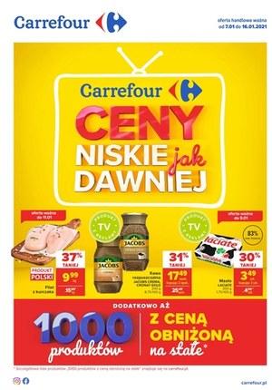 Gazetka promocyjna Carrefour - Ceny jak dawniej w Carrefour