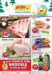 Gazetka promocyjna Prim Market - Świeżo i lokalnie w Prim Market - ważna do 13-01-2021