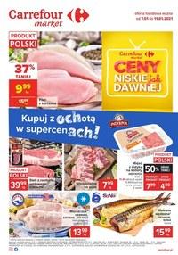 Gazetka promocyjna Carrefour Market - Niskie ceny w Carrefour Market - ważna do 11-01-2021