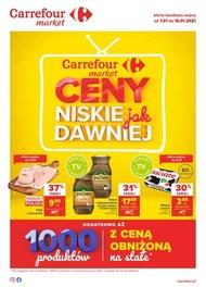 Ceny jak dawniej w Carrefour Market