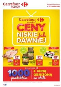 Gazetka promocyjna Carrefour Market - Ceny jak dawniej w Carrefour Market - ważna do 16-01-2021