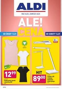 Gazetka promocyjna Aldi - Aldi - artykuły przemysłowe - ważna do 17-01-2021