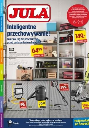 Gazetka promocyjna Jula - Inteligentne przechowywanie z Julą!