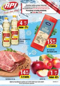 Gazetka promocyjna Api Market - Promocje w sklepach Api Market - ważna do 12-01-2021