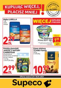 Gazetka promocyjna Supeco - Supeco oferta handlowa - ważna do 18-01-2021