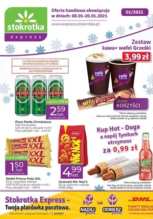 Gazetka promocyjna Stokrotka Express - Oferta handlowa Stokrotka Express