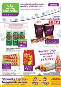 Gazetka promocyjna Stokrotka Express - Oferta handlowa Stokrotka Express - ważna do 20-01-2021