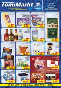 Gazetka promocyjna TomiMarkt - Twój sklep na co dzień TomiMarkt - ważna do 21-01-2021