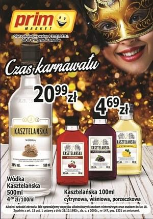 Gazetka promocyjna Prim Market - Prim Market - Czas karnawału